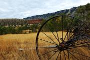 Ewing-snell Ranch 3 Print by Larry Ricker