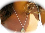 Charm Necklace Jewelry - EXAMPLE of GUARDIAN holistic necklace - see GALLERY by Melanie Bourne
