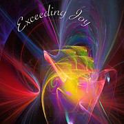 Library Digital Art - Exceeding Joy by Margie Chapman