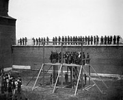 Mary Powell Photos - Execution Of Conspirators by Granger