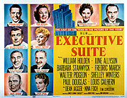 Wbdvd11b Acrylic Prints - Executive Suite, William Holden, June Acrylic Print by Everett