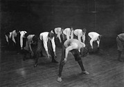 Lewis Wickes Hine Prints - Exercising, Original Caption A Game Print by Everett