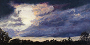 Storm Clouds Paintings - Exhale by Ann Moeller Steverson