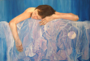 Exhausted Paintings - Exhausted by Gladiola Sotomayor