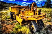 Slash Art - Exhausted Old Mine Cart by Noah Graham