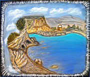 Landscapes - Exotic Beach near Limassol by Augusta Stylianou