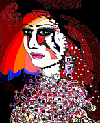 Exotic Bride Print by Natalie Holland