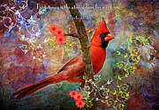 Embellished Posters - Expectancy and Miracles Poster by Bonnie Barry