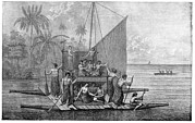 Tonga Framed Prints - Exploration Of Tonga, 18th Century Framed Print by Cci Archives
