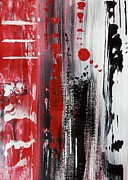 Jessie Art Art - Exploring in Red by Jessie Art