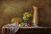 Still Life With Pears Framed Prints - Exploring Still Life Framed Print by Sari Sauls