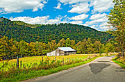 Rural Road Framed Prints - Exploring West Virginia Framed Print by Steve Harrington