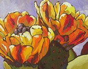 Sonoran Desert Prints - Explosion of Color Print by Sandy Tracey
