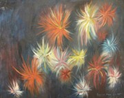 Mental Paintings - Explosive Emotions by Suzanne  Marie Leclair