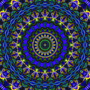 Optical Illusion Digital Art Posters - Expression No. 2 Poster by Joy McKenzie