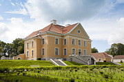 Landscaped Prints - Exterior of Palmse Manor Print by Jaak Nilson