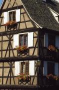 Rhin Prints - Exterior Of Traditional House In Print by Axiom Photographic