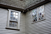 Paul Revere Posters - Exterior Views Of Paul Reveres House Poster by Tim Laman