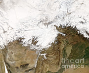 Extreme Weather Photos - Extreme Cold In Afghanistan by Nasa