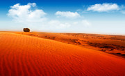 Dubai Photos - Extreme desert by Anna Omelchenko
