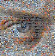 Heart Images Art - Eye 2 by Boy Sees Hearts