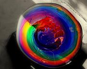 Colors Glass Art - Eye Allure.. by Al  Swasey