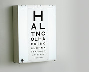 Wall Chart Photos - Eye Chart by Adam Gault