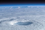 Winds Prints - Eye Of Hurricane Isabel Print by Nasa