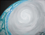 Space Paintings - Eye Of Irene by Devon Stewart