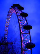 Roberto Alamino Acrylic Prints - Eye of London by Roberto Alamino