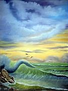 Sloan Paintings - Eye of the Storm by Ervin Sloan