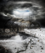 Desolation Prints - Eye of the Storm Print by Karen Koski