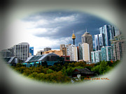 Artography Photos - Eye On Sydney by Stephen Lawrence Mitchell