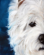 Animals Framed Prints Paintings - Eye See You by Mary Sparrow Smith