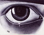 Eye Drawings - Eye by Yuri Peress