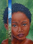 Aids Paintings - Eyes of Africa by Dee Youmans-Miller