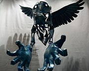 Chimera Sculptures - Eyes of the Observer by Thomas Trinh