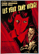 1960s Poster Art Posters - Eyes Without A Face, Aka Les Yeux Sans Poster by Everett