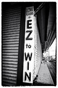 Seaside Heights Prints - EZ to Win Print by John Rizzuto