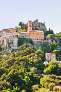 French Culture Metal Prints - Eze, Cote Dazur, France Metal Print by John Harper