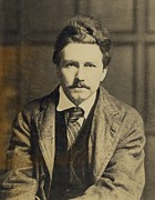 Authors Framed Prints - Ezra Pound 1885-1972, In The 1920s Framed Print by Everett