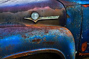 Collectibles Prints - F-100 Ford Print by Debra and Dave Vanderlaan