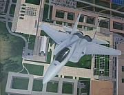 Usaf Painting Framed Prints - F-15 going vertical over USAFA Framed Print by John Cmar