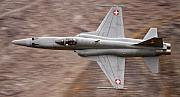 Axalp Prints - F-5 Print by Angel  Tarantella