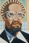 Black History Paintings - F E D U P by David G Wilson