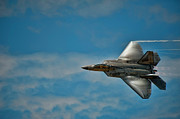 U.s. Air Force Prints - F22 Raptor steals the show Print by Dan McManus