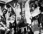 Mural Photos - FABER: MURAL PAINTING, c1940 by Granger