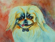 Wag Tail Framed Prints - Fabio Framed Print by Jane  Ricker