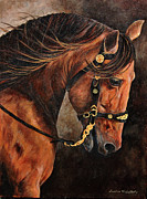 Dressage Horse Originals - Fabio by Janice  McCafferty