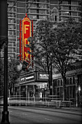 Fabulous Fox Theater Print by Doug Sturgess